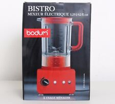 NEW Bodum 11303-294US Bistro 5-Speed 500W 1.25L Electric Blender, 42-Ounce Red