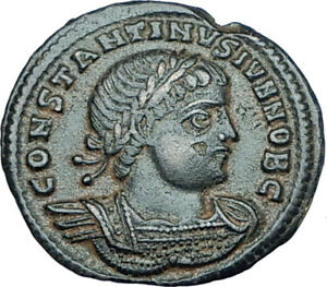 CONSTANTINE-II-Jr-Genuine-330AD-Authentic-Ancient-Roman-Coin-SOLDIERS-i65931