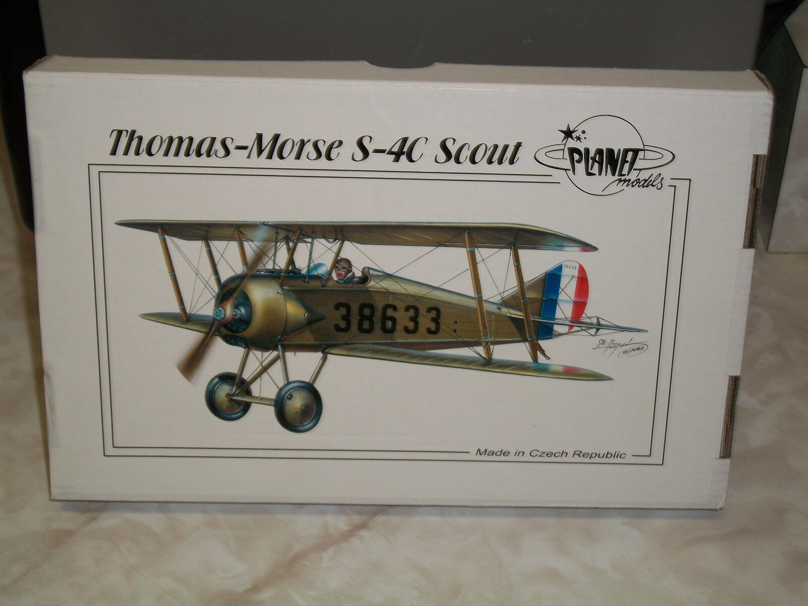 Planet Models 1 48 Scale Resin Thomas-Morse S-4C Scout