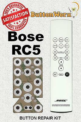 Bose RC-5 **BUTTON REPAIR KIT** Lifestyle System Remote Control RC5 | eBay