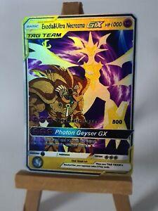 Exodia-and-Ultra-necrozma-Pokemon-GX-equipe-Custom-Card-dans-FULL-HOLO-proxy