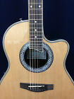 "Caraya SP-721CEQ/N 41"" Round Back Electro-Acoustic Guitar, EQ. w/Free Gig Bag"