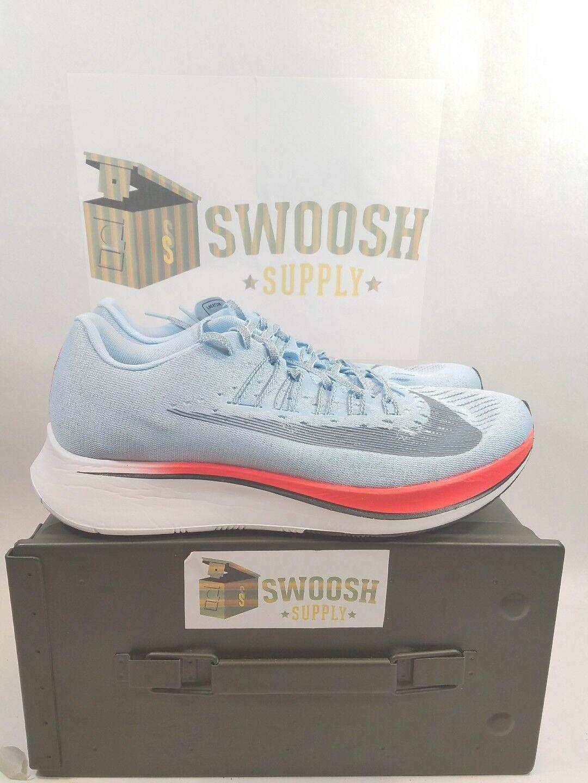 Nike Zoom Fly Ice bluee Running Sneakers Sneaker 880848-401 Mens Size 15