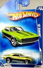 GREEN 2009 Hot Wheels HB14 /'67 Camaro #149