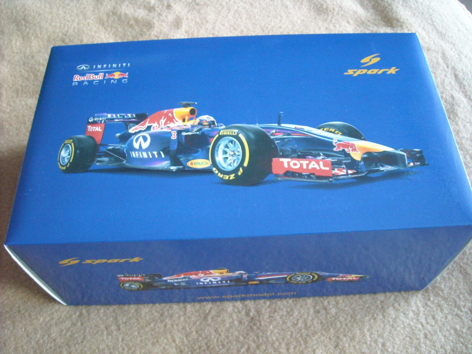 SPARK rosso Bull Racing Renault rb10 GP Canada Daniel Ricciardo  3 1:18 2014