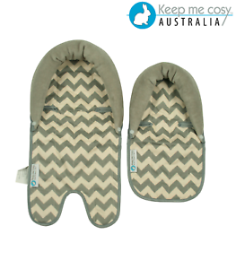 Keep-Me-Cosy-Baby-Head-Support-Twin-Pack-for-Pram-Stroller-amp-Car-Seat