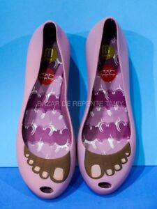 Melissa 5 Slip Ronaldo Fraga Authentic Eu On Size 38 Ballerina Shoes Uk rgtrz