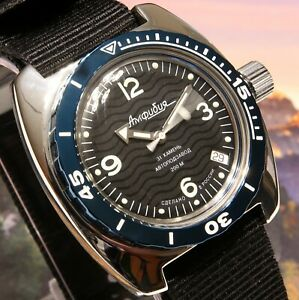 Vostok Amphibia Custom Russian Auto Dive Watch New Boxed Uk Seller Ebay