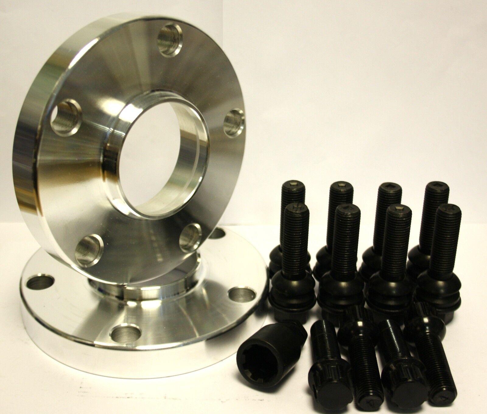 2 X 20mm Spurverbreiterung Spurverbreiterung Spurverbreiterung + Schwarz Oe-R Schrauben & Verriegelung 4198b5