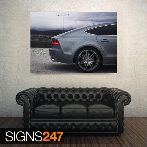 AUDI A7 CAR POSTER Photo Picture Poster Print Art A0 A1 A2 A3 A4 AA438