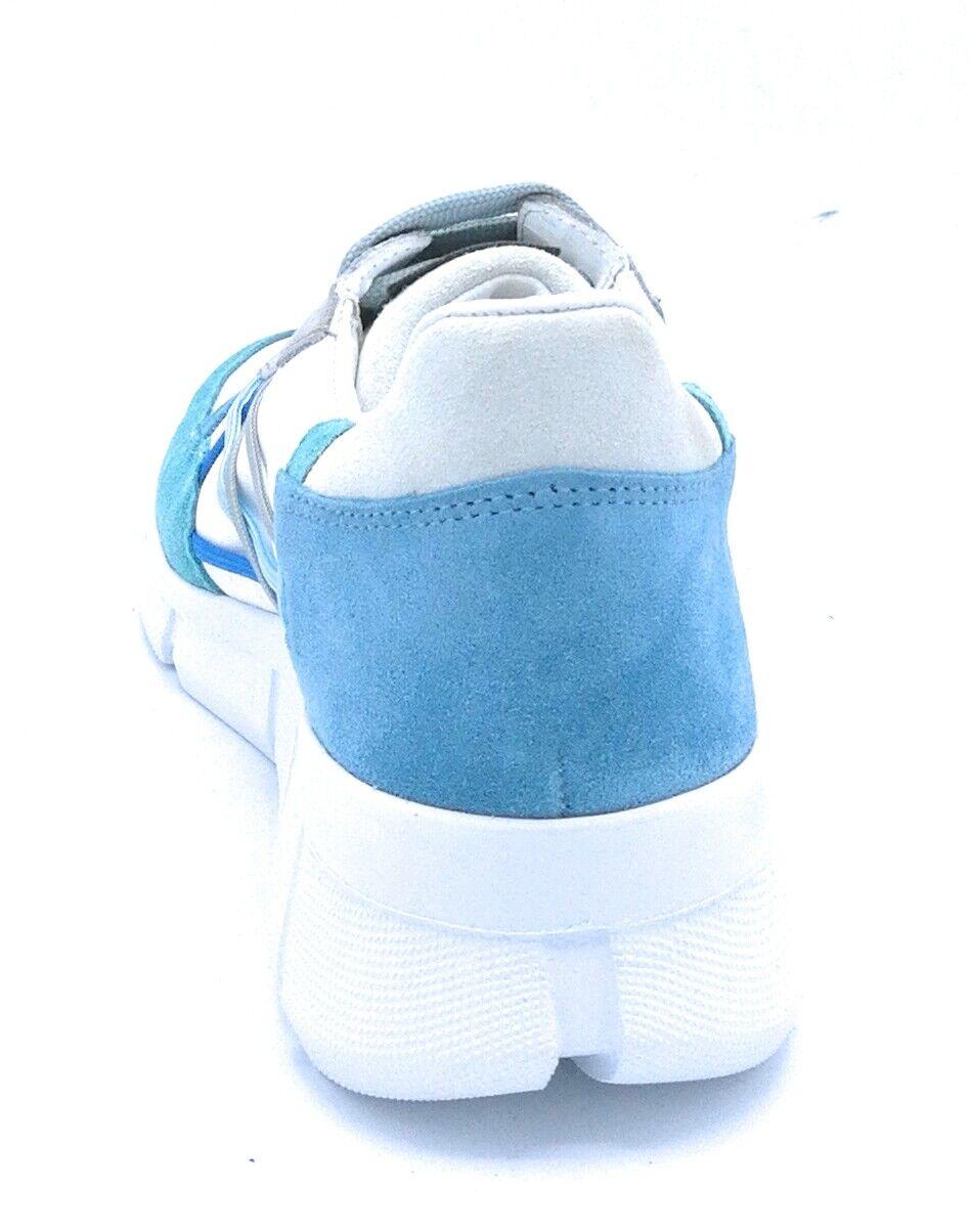 Mister BIg L4K3 07 scarpe da ginnastica lacci tela-camoscio multicolore multicolore multicolore a72c35
