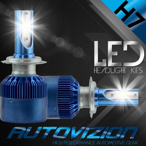 AUTOVIZION LED HID Headlight Conversion kit H7 6000K for BMW 525i 2001-2010