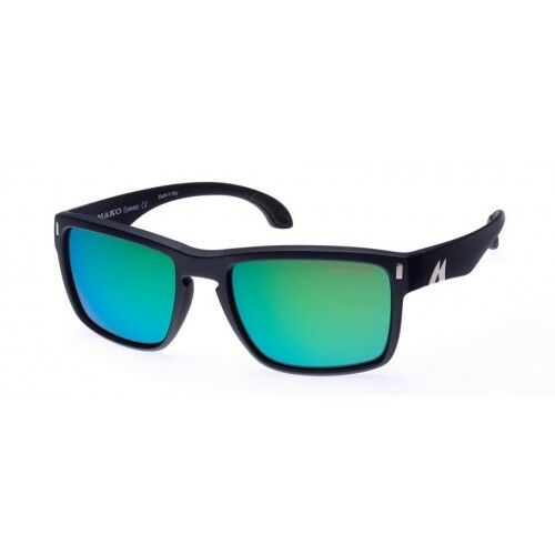 Mako GT pink Glass Green Mirror Sunglasses  Polarised 9583 G2H5 + Free Shirt  wholesale prices