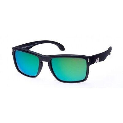 Mako GT ROSE Glass Green Mirror Sunglasses Polarised 9583 G2H5 FREE Mako Hat