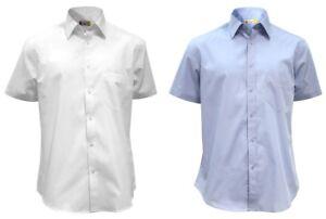 camicia-uomo-manica-corta-100-cotone-finissimo-pettinato-classica-taschino
