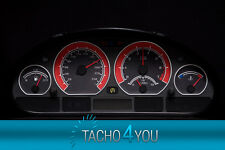 BMW Tachoscheibe Tacho E46 Benzin oder Diesel M3 CARBON ROT 3097 Tachoscheiben