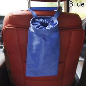 Car-Trash-Can-Garbage-Dust-Case-Back-Seat-Organiser-Storage-Hanging-Bag-Pocket