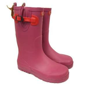 Aigle Kids Woody Pop Wellies - Mure/Rouge - Reduced to £29.95