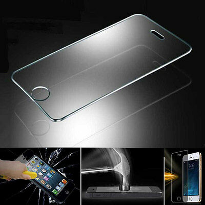 Tempered Glass Screen Protector Cover Film for iphone 5 SE 6 6S Plus iPad Mini