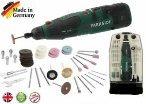 Parkside 12V Cordless Rotary Tool with Accessories