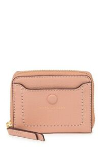 Marc-Jacobs-Ballet-Pink-Empire-City-Leather-Zip-Around-Wallet-New-MSRP-110