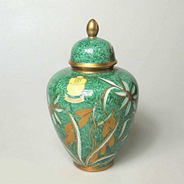 60er Jahre Deckelvase Vase Porzellanfabrik Marktredwitz Jäger & Co.Hagemann