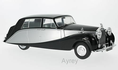 Mcg 1 18 Pressofuso 1956 Rolls Royce silver Wraith Wraith Wraith Hooper Empress black e 67b2ed