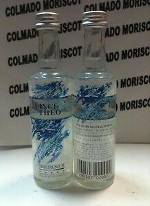 VODKA VINCE N' THEO HIGH PREMIUM 40% 50m glass miniatura mignonette minibottle