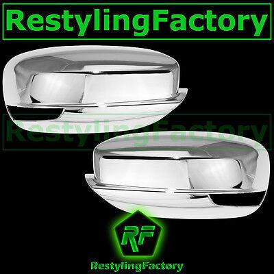 11-14 CHRYSLER 300+300C+200 Triple Chrome Plated Mirror Cover w/Turn Signal hole