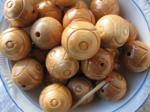 madera balas 25 mm rositas con elección de color 60 pieza de madera perlas II elección precio especial
