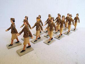 Fusilier Miniatures Corps de l'Armée Féminine 54mm U. Marchant X 14 Figurines (bs1474)