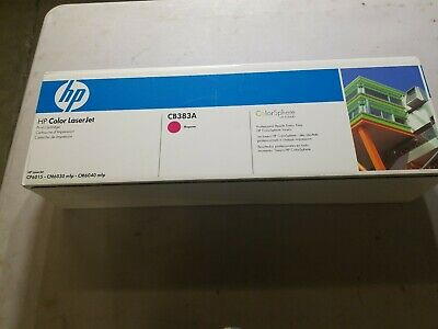 GENUINE HP TONER 824A CB383A  MAGENTA BRAND NEW IN SEALED BOX