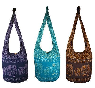 Hippie Bags Purse Hippy Medium Boho Hobo Beach Cotton Festival Shoulder Bag