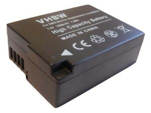 BATTERIE-CHIP-1000mAh-pour-Panasonic-Lumix-DMC-G5K-DMC-G6-DMC-G6KK