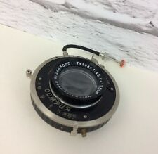 Vintage F. Deckel Munchen Carl Zeiss Tessar 1: 4,5 F= 13.5cm Lense.