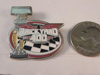 Actief Nascar Brickyard 400 Indianapolis Motor Speedway 2011 Pin Beroemd Voor Geselecteerde Materialen, Nieuwe Ontwerpen, Prachtige Kleuren En Prachtige Afwerking