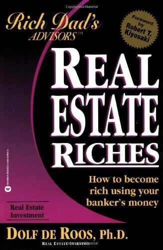 1 of 1 - Rich Dad's Advisors: Real Estate Riches by Roos, Dolf De 0446678643 The Cheap