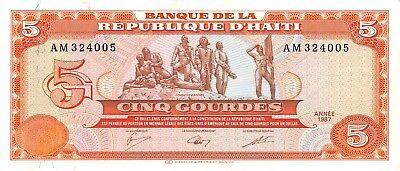 HAITI BANKNOTE P276d 250 GOURDES 2010 PREFIX C UNCIRCULATED USA SELLER