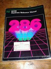 Libro Book Intel 286 hardware reference manual manuale vintage 80286