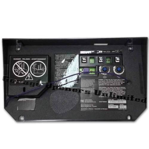 garage door receiver41a50213h315 Sears Craftsman Garage Door Opener Receiver Logic