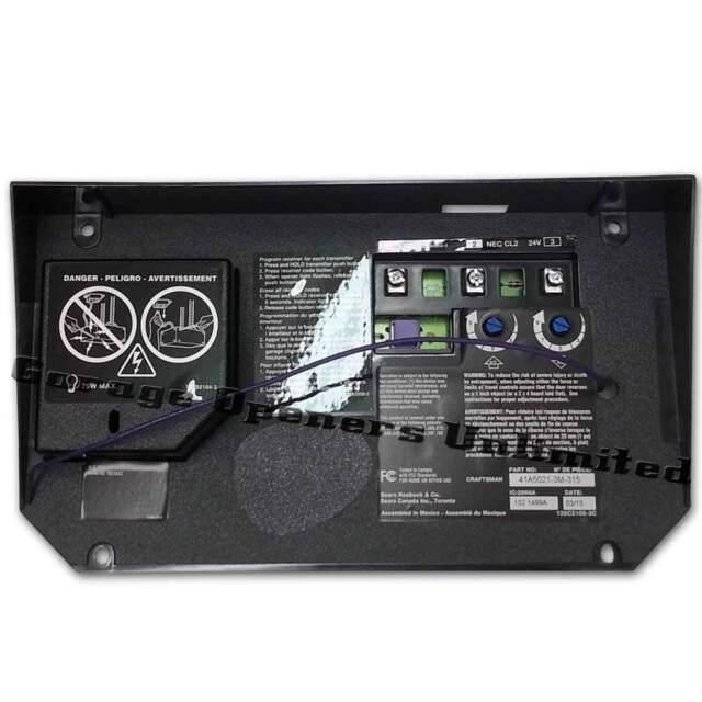 craftsman garage door logic board migrant resource networksears craftsman 41a4315 7e receiver logic board embly replacement garage door opener logic board