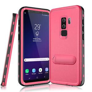 Pour-Samsung-Galaxy-S9-PLUS-Case-Cover-etanche-antichoc-Built-in-movie-stand