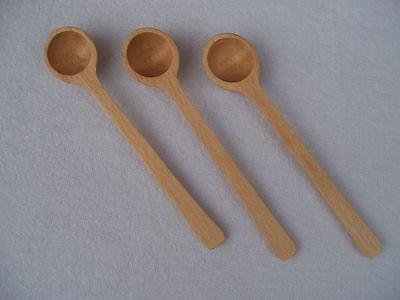 Set 2 cuillères petit little mini cuillère en bois cuillère sel sucre