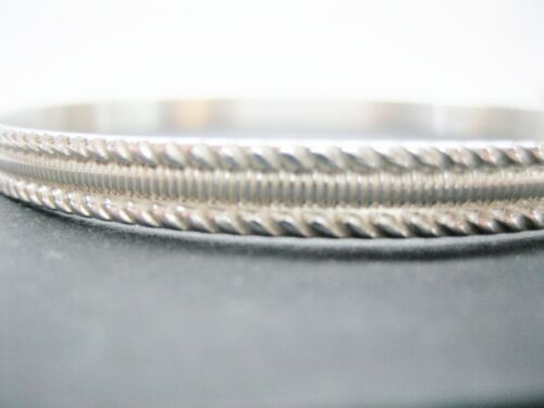 STERLING SILVER 925 BANGLE SHANTPETER BRAND VARIETY OF SIZES MADE IN U.S.A