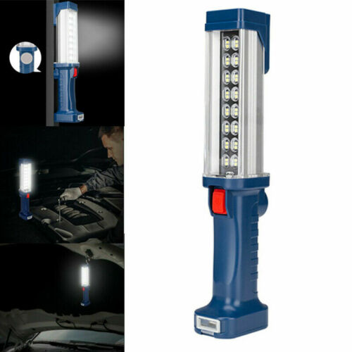 20W 32 SMD LED USB Rechargeable Work Light Magnetic Bright Torch Inspection Lamp