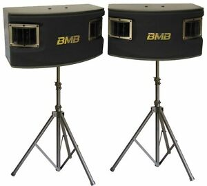 BMB-CSV-450-500W-10-034-3-Way-Karaoke-Speakers-with-2-Heavy-Duty-Tripod-Stands