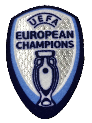 Portugal UEFA Champions 2016 Euro Cup Football Jersey Shirt Iron On Patch Badge