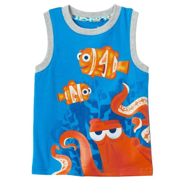 cc24164ad3c5b Disney Finding Dory Hank Marlin   Nemo Toddler Boy s Muscle Tank ...