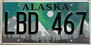 Alaska-Artistic-American-License-Licence-USA-Number-Plate-LBD-467