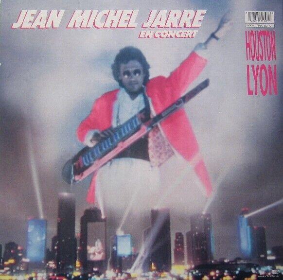 LP, Jean Michel Jarre, In Concert / Houston-Lyon